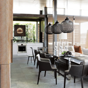 cape town penthouse interior dining room