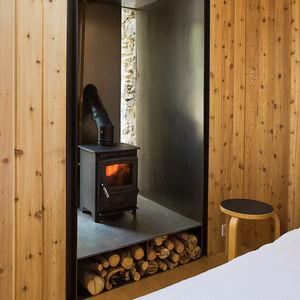 blee wood burning stove detail