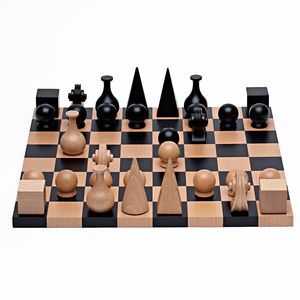 May Ray beech wood chess set games gift guide dwell store