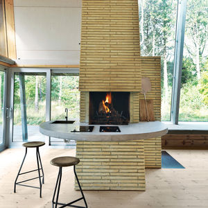 hald strand fireplace