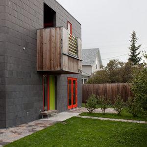 extended whitlock residence balcony