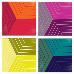 poststudio colorstudies coasters multi