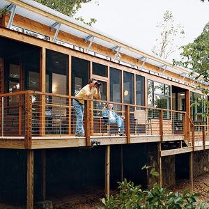 kiesling house exterior deck back