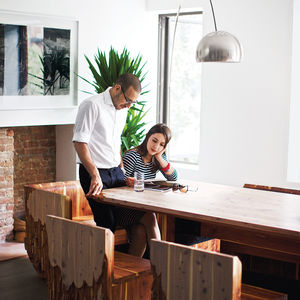 brooklyn renovation interior dining room