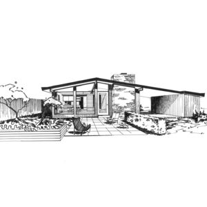 ridgewood ink drawing