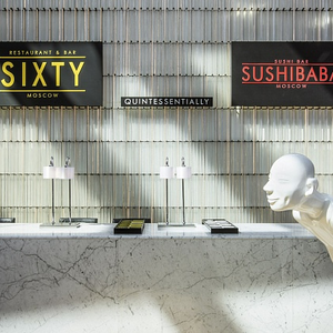 marble, front desk, statue, Moscow