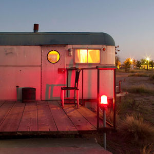 trailer, dawn, morning, Texas