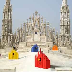 salone milan Mostra Cucù Duomo cuckoo clock
