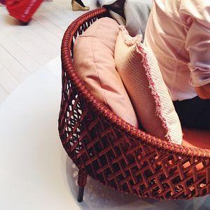 stephen burks pink chair