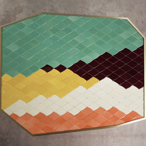 Landscape India Mahdavi table square