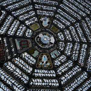 Aerial suburban Arizona