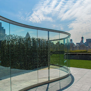 metropolitan museum rooftop dan graham glass pavilion