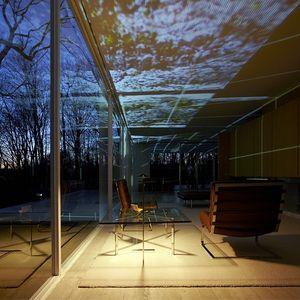 farnsworth house light show