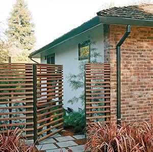 Drought-resistant garden in Menlo Park