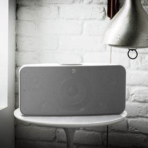 bluesound pulse wifi speaker white