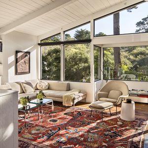 Torres Residence living room after renovation.
