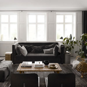 Living room by Ilse Crawford and Studioilse for The Apartment in Copenhagen