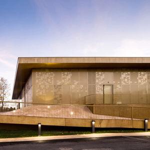 archives metallic facade