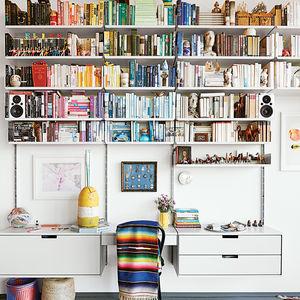 designed for living living room universal shelving system vitsoe