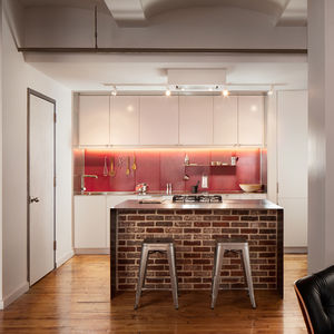 boston kitchen remodel brick island