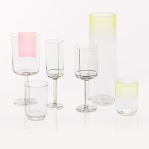 hay color glasses by scholten & baijings
