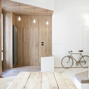 3 vaults apartment in turin