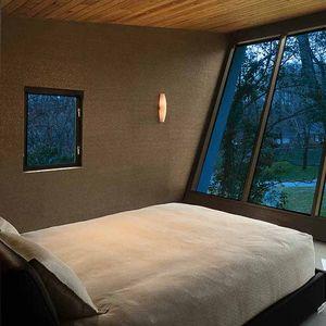 Sarvis residence master bedroom.