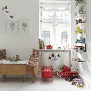 monochromatic copenhagen childrens room