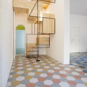 casa g siciliy staircase