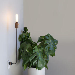 wald plug lamp by feltmark