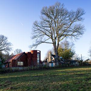 Gasworks Barn full exterior, England