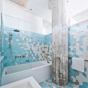 doehler renovation bathroom column