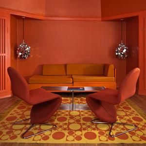 hotel alexandra verner panton suite living room copenhagen