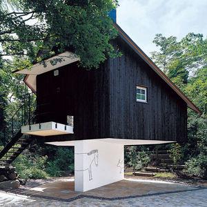 fujimori terunobu guest house exterior