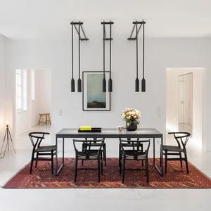 berlin apartment modern dining room