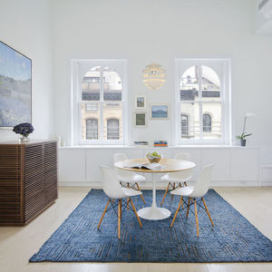 studiolab tribeca loft renovation dining area 02