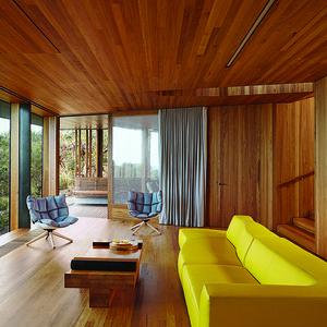 fairhaven beach house living room blackbutt eucalyptus