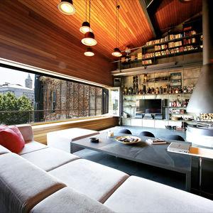istanbul loft living area
