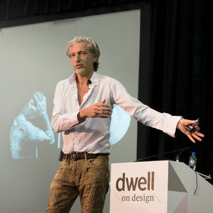 Designer and Moooi cofounder Marcel Wanders, keynote speaker at 2015 Dwell on Design LA.