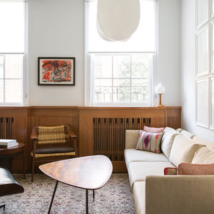 West Village apartment with custom Japanese-inspired millwork