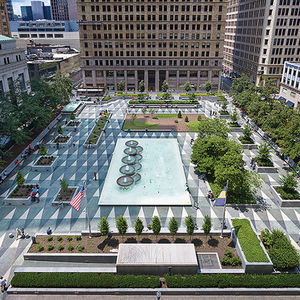 Design Award of Excellence winner Mellon Square.