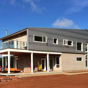 Modern home on Prince Edward's Island.