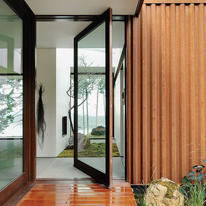 Aging in Place Gary Gladwish Eagle Ridge steel exterior wide doorway zero step