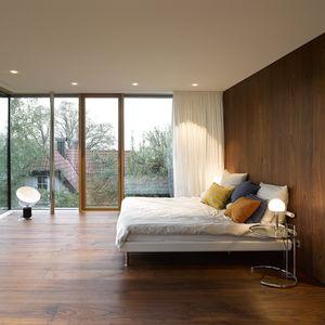 Behnisch Architekten renovation bedroom.