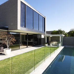 Brighton House exterior pool