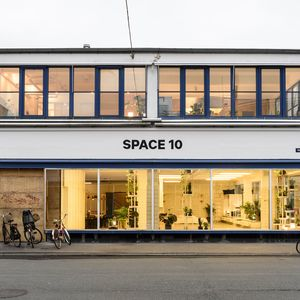 Facade of Space 10 IKEA innovation hub