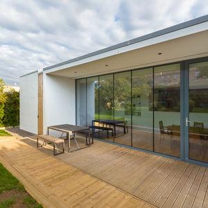 Featherhall renovation exterior deck