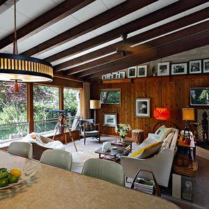 Fire Island modern beach house designed 1961