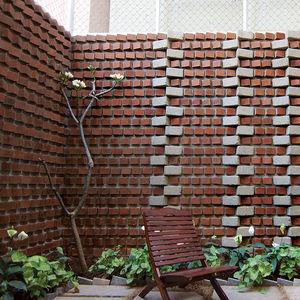 Brick wall in Bangalore