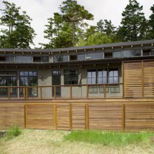 Cedar-clad home in Northern California